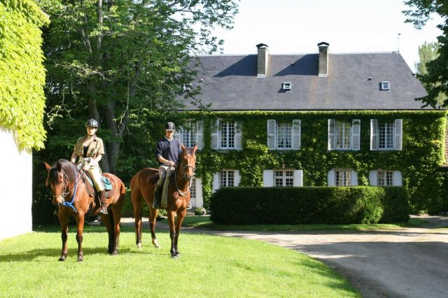 French riding holidays